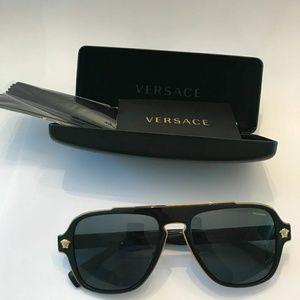 e628106a079 Versace Accessories - Versace Polarized Sunglasses VE2199